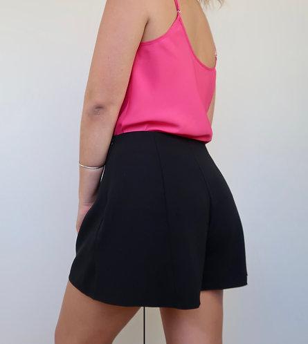 Side Zip Flippy Shorts