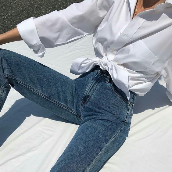 How to Style a White Blouse