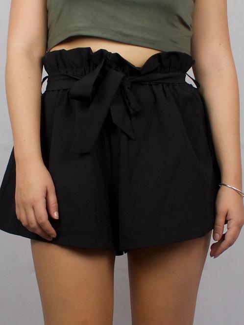 Paper Bag Tie Shorts