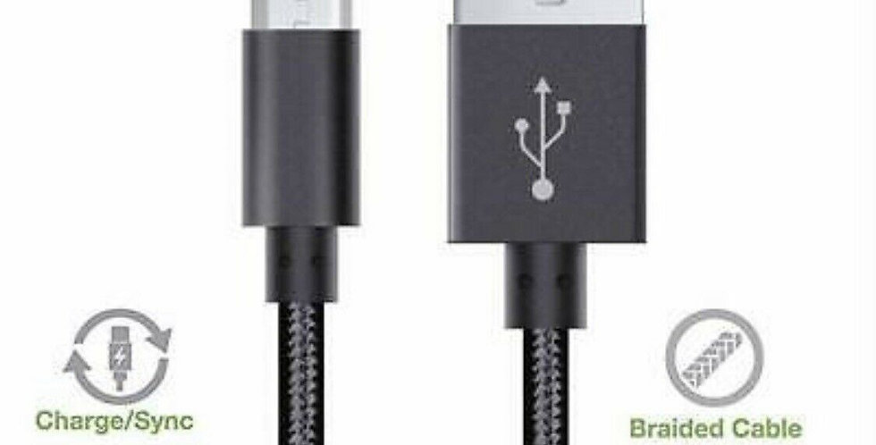 Braided Micro USB Cable