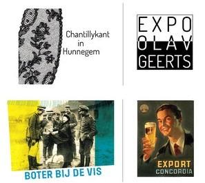 Drie tentoonstellingen in Hunnegem!