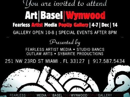 Randy L Barton wins Live Art Battle @ Miami Art Basel