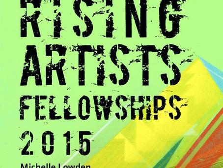 Announcing our 2015 Rising Artist fellowship recipients