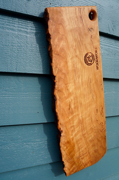 Curly Cherry with Natural Edge, Medium