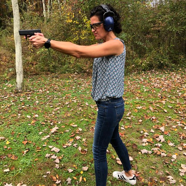 Wendy at the Range