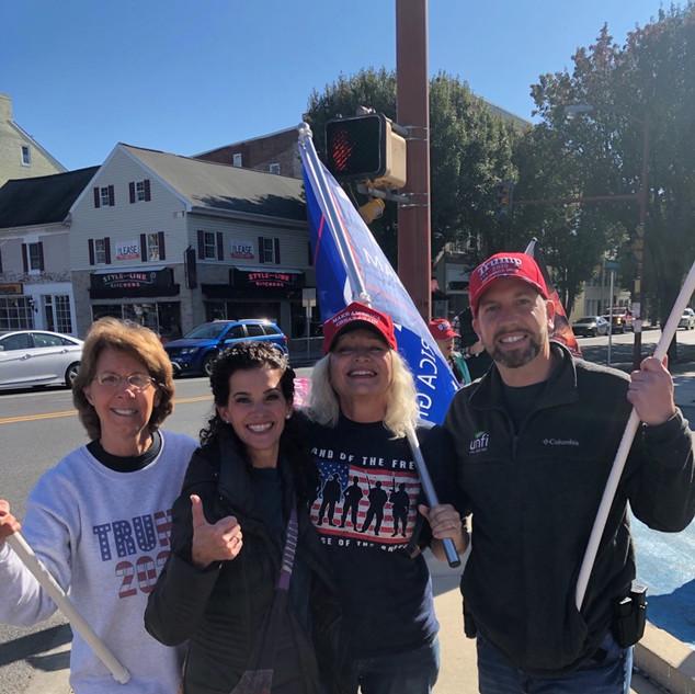 Trump Rally Hempfield PA