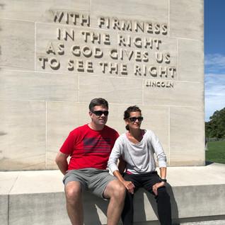 Wendy and Joe in Gettysburg