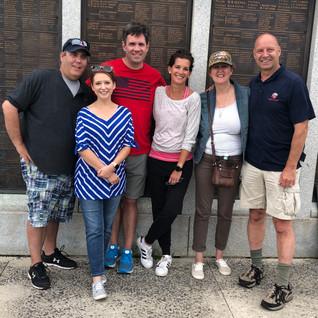 Wendy, Joe, Brock and friends