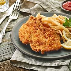 MONDAY - chicken schnitzel