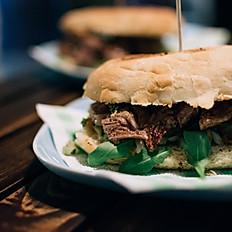 MONDAY - steak sandwich