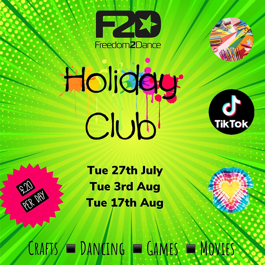 F2D Holiday Activities
