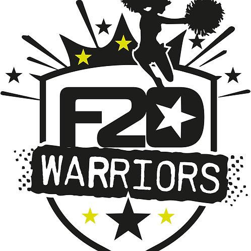 F2D Warriors Cheer Team Tee