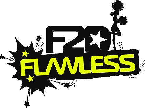 F2D Flawless Cheer Team Tee