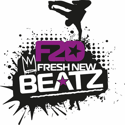 F2D afresh New Beatz Hip Hop Crew Tee