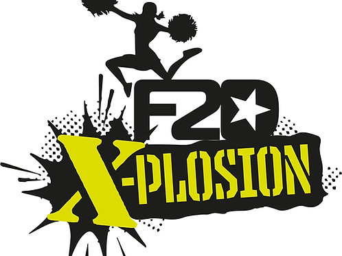F2D X- Plosion Cheer Team Tee