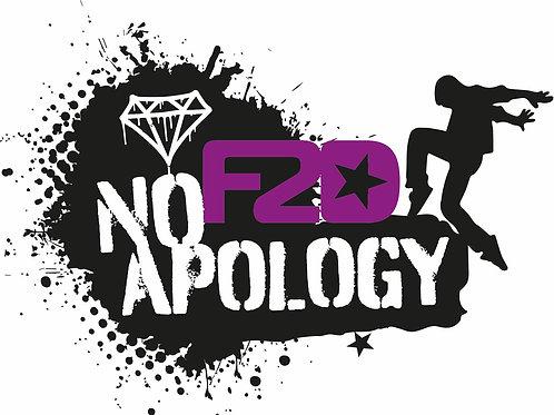 F2D No Apology Hip Hop Crew Tee
