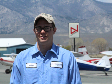 From destitute to driven – Walker Jackson takes flight