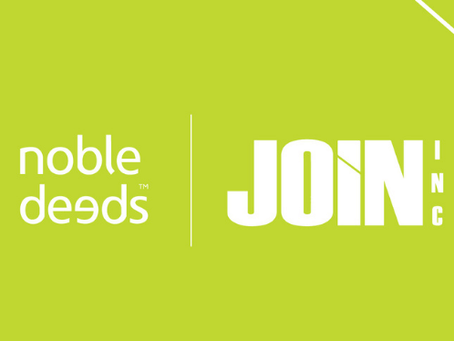 JOIN Inc. Selected as 2021 Noble Deeds Recipient