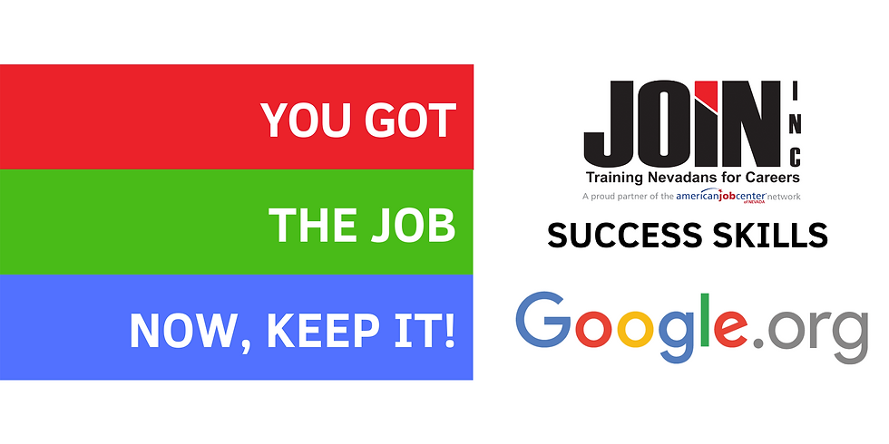 You got the job! Now, keep it.