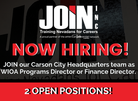 JOIN is now hiring for two open positions!