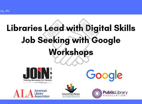 Carson City Library to offer job seeker workshops