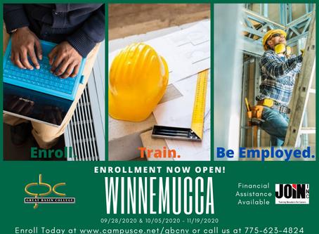 Open enrollment: BuildNV Core Construction Program
