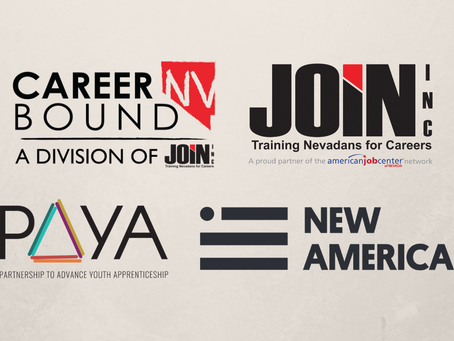 JOIN and Career Bound NV partner with the PAYA Network to support youth apprenticeship opportunities