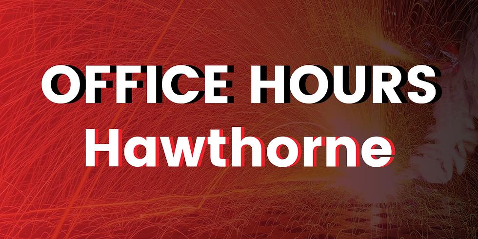 Hawthorne Office Hours