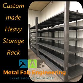 Custom Storage Rack
