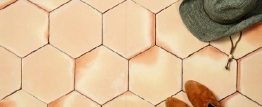 אריחי משושה מטרה קוטה ידנית בצבע ניוד
