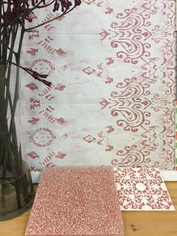 אריחי שטיח אנטי סליפ עדין