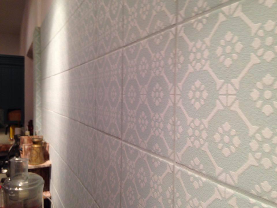 אריחי שטיח לחיפוי קירות מטבח