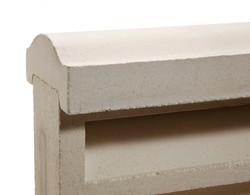 אלמנט מעקב מבטון לקיר משרביות