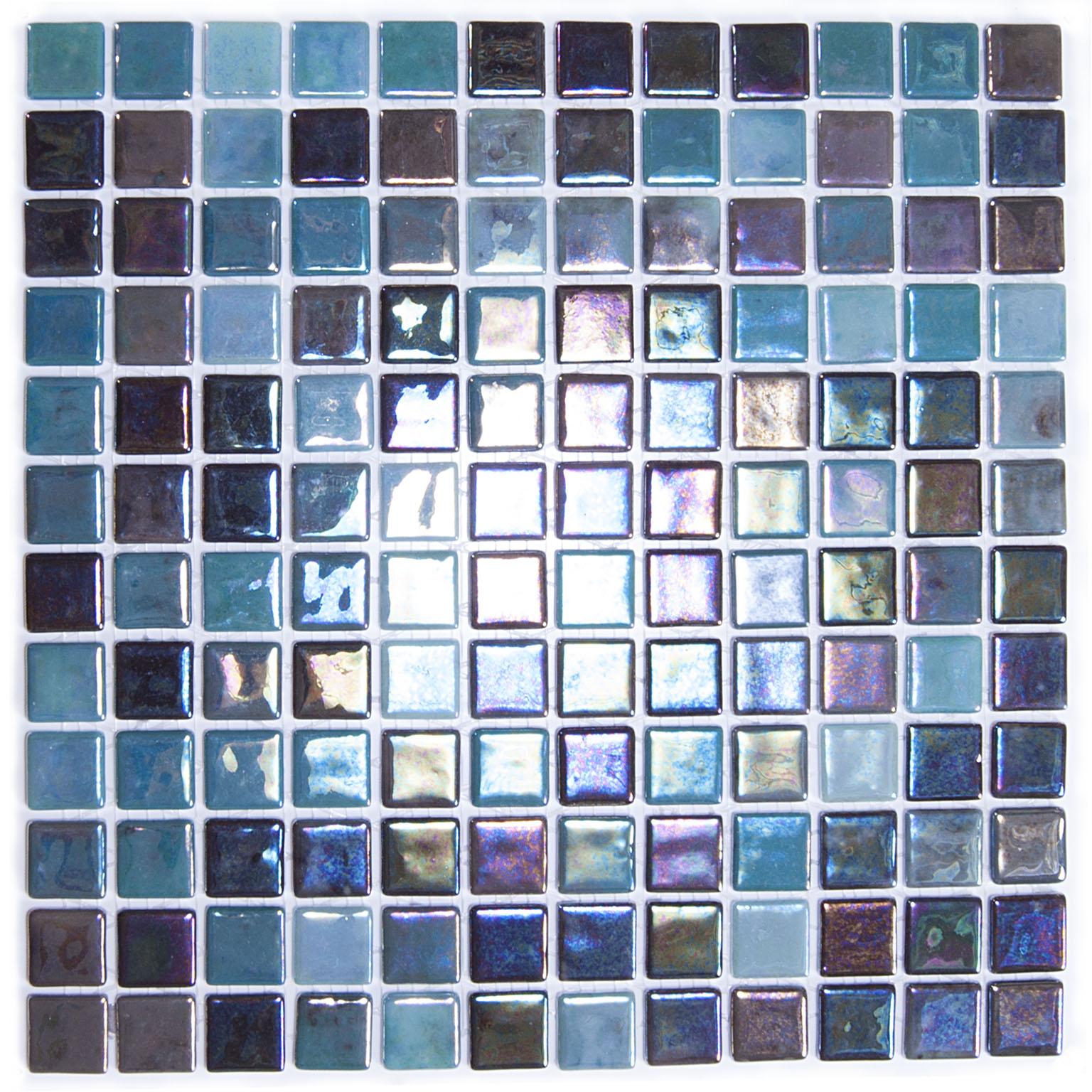 פסיפס לבריכה בגוון כחול טורקיז