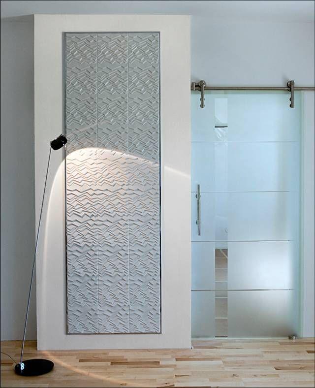 חיפוי  תבליטי לקירות מקלחון