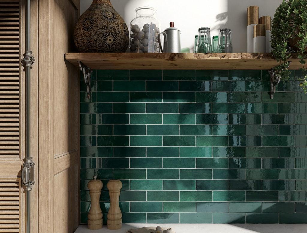 בריקים בשלל צבעים לחיפוי קירות מטבח