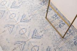 ריצוף פורצלן דמוי שטיח