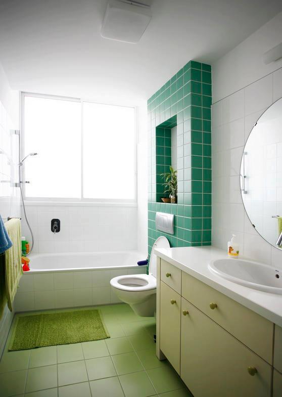 אריחים צבעוניים חלקים לחיפוי קירות ו