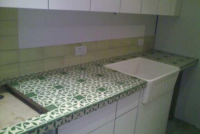 משטח עבודה במטבח
