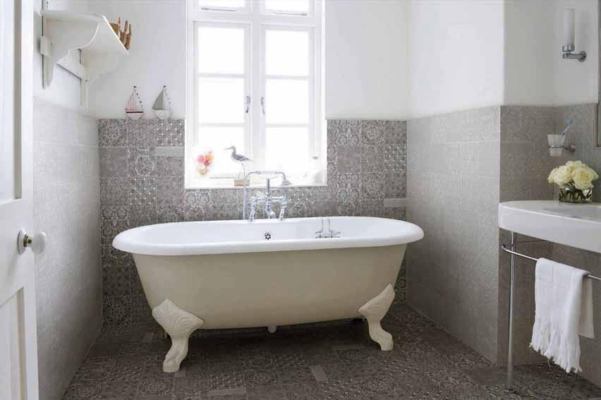 סדרת אריחי שטיחים לחיפוי חדר רחצה