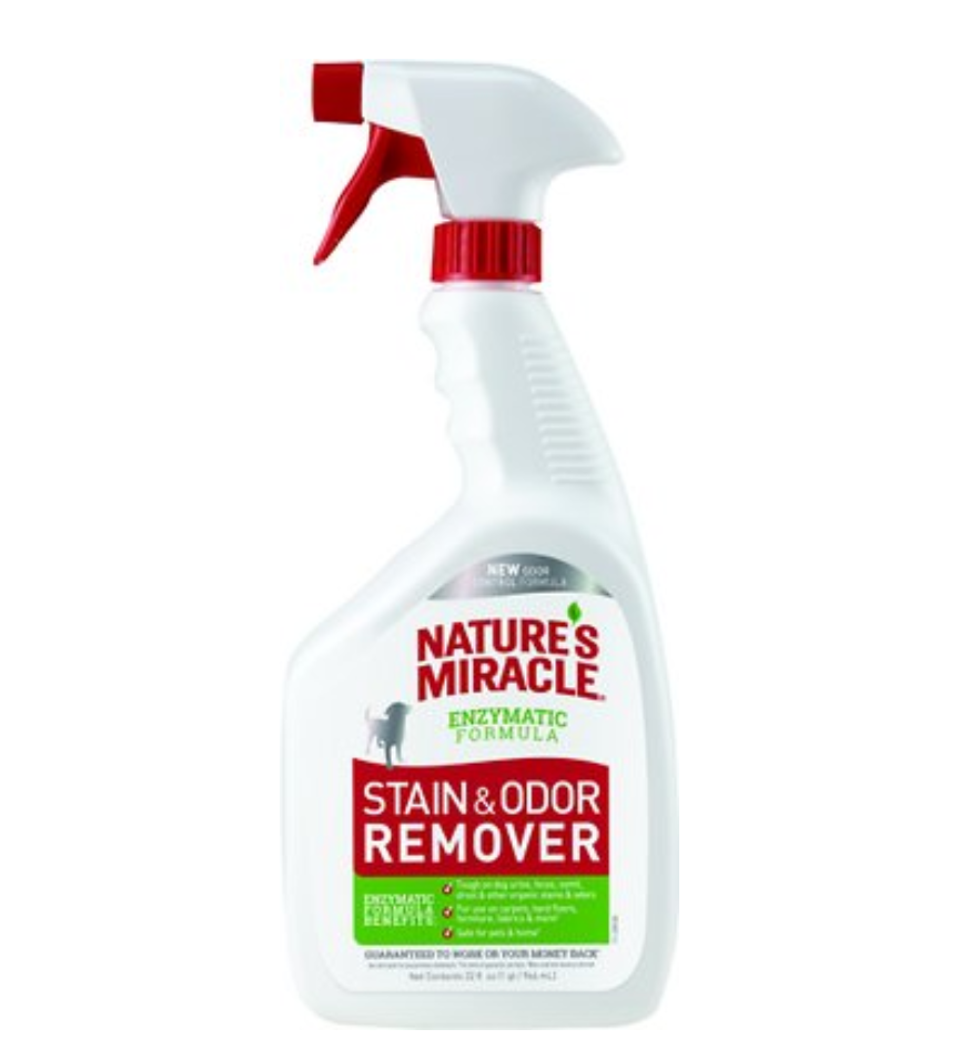 Nature's Miracle brand Stain & Odor Remover for Pets