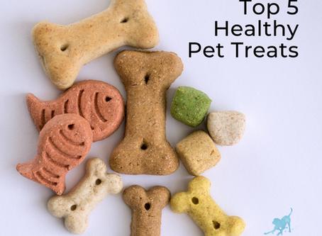 Top 5 Healthy Pet Treats