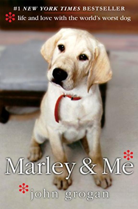 Marley & Me John Grogan Book Cover