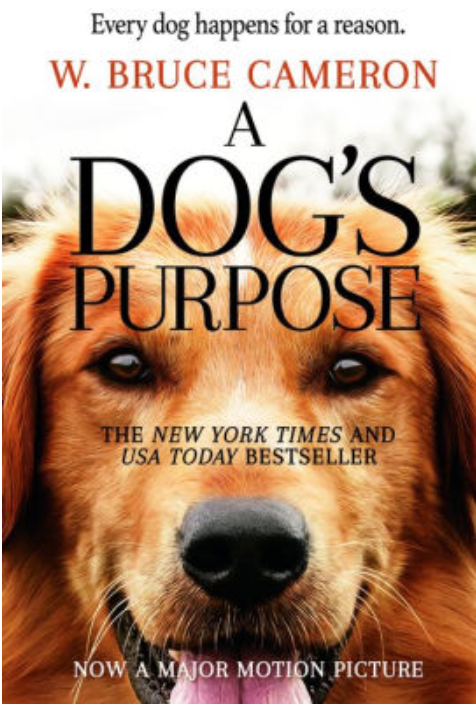 A Dog's Purpose Book Cover by W. Bruce Cameron