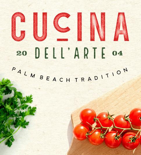 Cucina dell Arte | Art Direction & Graphic Design