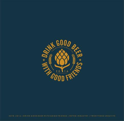 Drink Good Beer with Good Friends | Branding