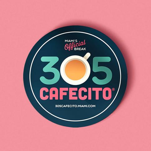 305 Cafecito | Art Direction, Branding & Graphic Design