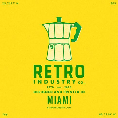 Retro Industry | Art Direction, Branding & Graphic Design
