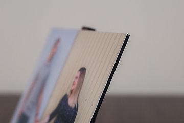 individual mounted print photography products thick black styrene