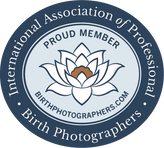 member of IAPBP International Association of Professional Birth Photographers